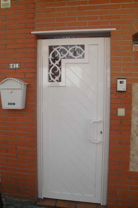 Puertas de aluminio precios imagui for Precio de puertas
